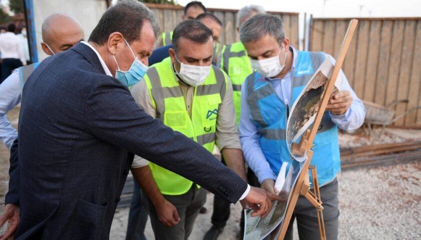 Mersin'de yağmur suyu çalışmaları