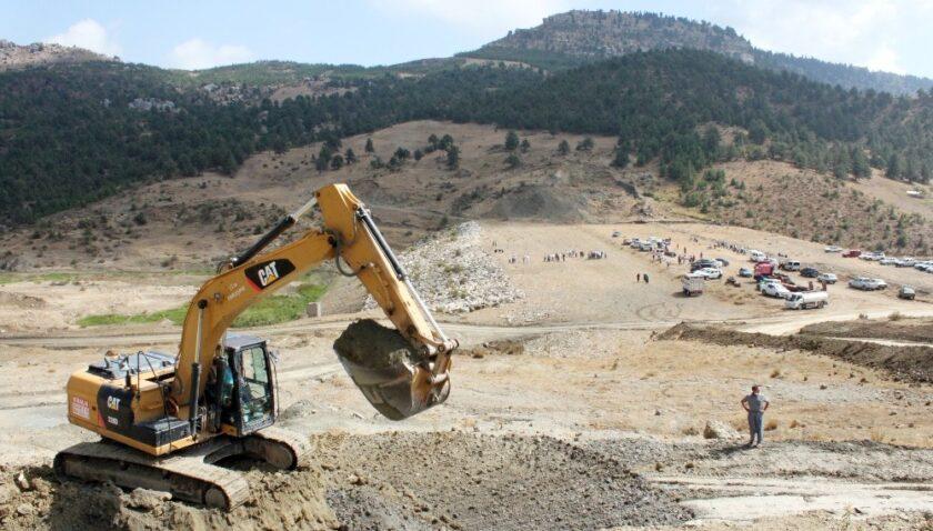 27 yıllık Karacaoğlan Göleti Projesi'nde çalışmalar yeniden başladı