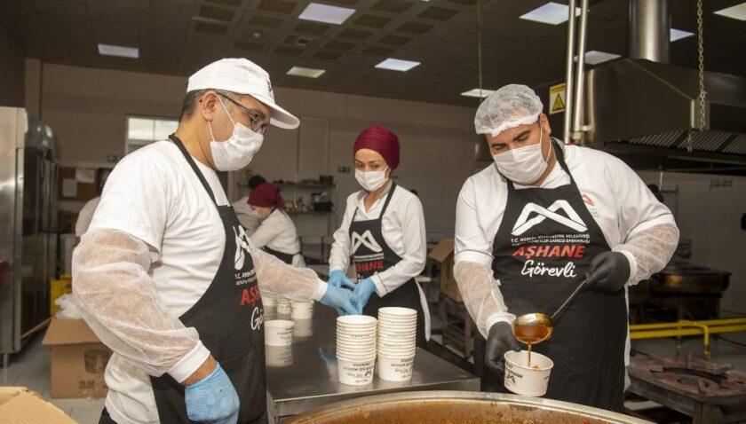Büyükşehir Belediyesinden pandemide 500 bin sıcak yemek