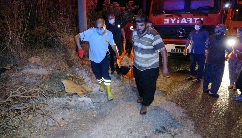 Depodaki sandıklar yandı: 1 yaralı