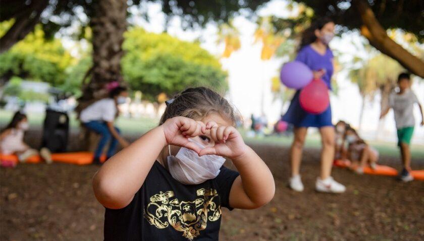 Dünya Kız Çocukları Günüde çocuklar doyasıya eğlendi