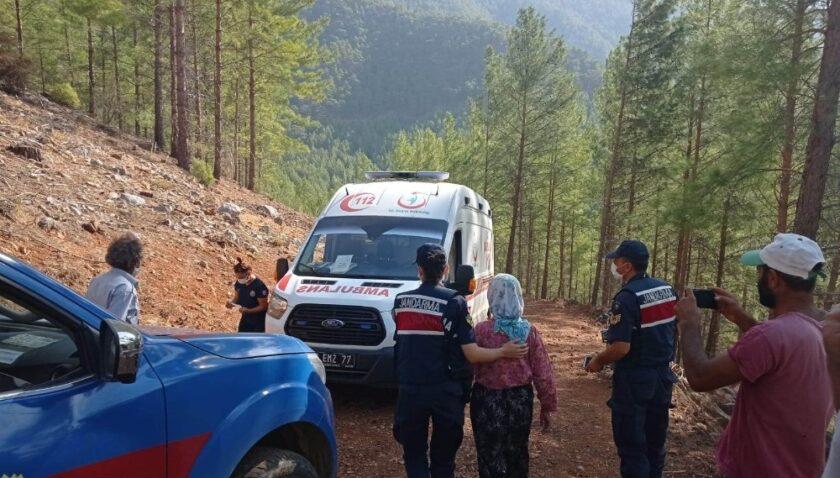 Kayıp kadın 10 gün sonra ormanda sağ olarak bulundu