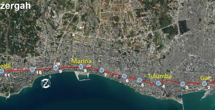 Mersin Metro Projesi, 35 ülke ve 260 proje arasında finale kaldı