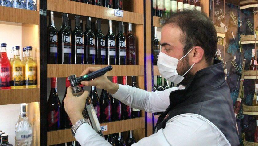 Mersin'de sahte alkol denetimi sıklaştı