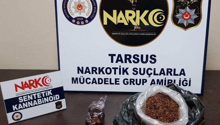 Tarsus'ta uyuşturucu satıcılarına göz açtırılmıyor!