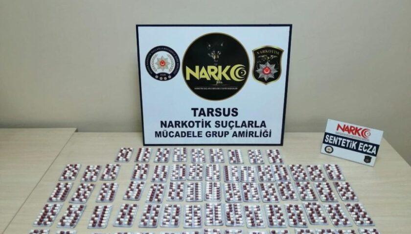 Tarsus'taki 2 uyuşturucu satıcısı tutuklandı