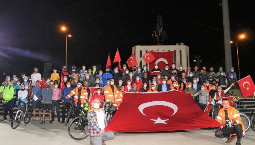 Ata'ya saygı için Toroslar'dan Anıtkabir'e pedal çevirecekler