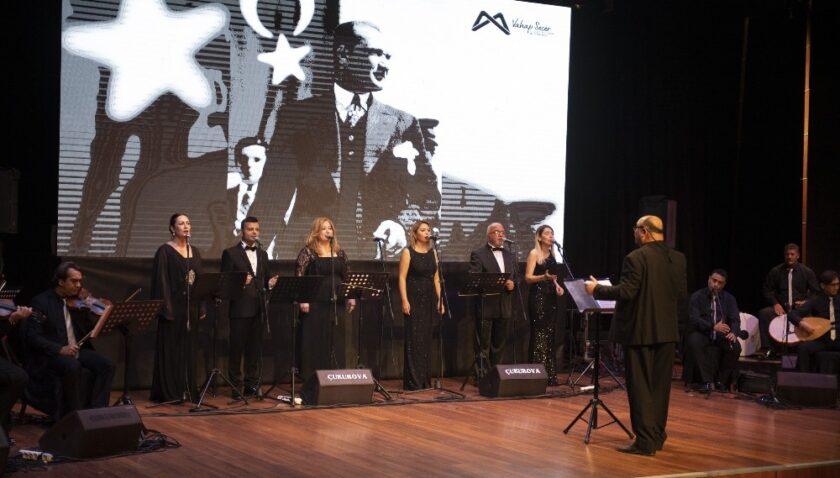 Atatürk, Mersin'de sevdiği şarkılarla anıldı