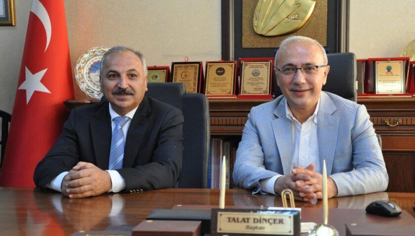 Mersin ESOB Başkanı Dinçer, Bakan Elvan'ı kutladı