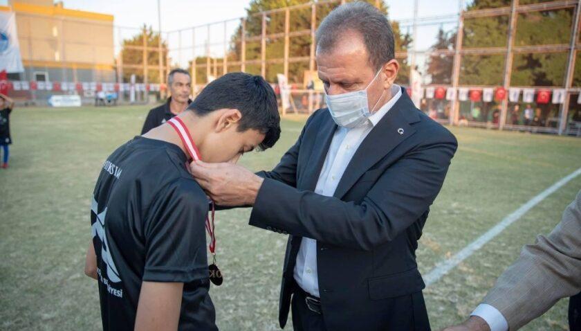Mersin'de 10 Kasım Atatürk'ü Anma 10 Yaş Futbol Etkinliği tamamlandı