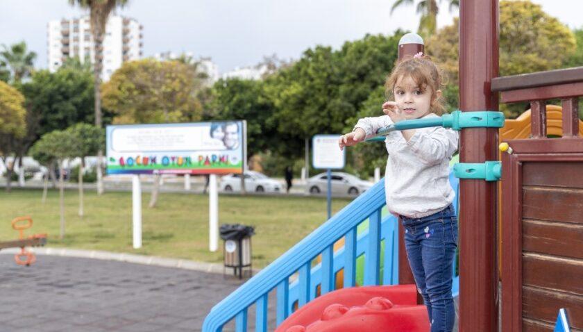 Mersin'de parkların isimlerini çocuklar belirleyecek