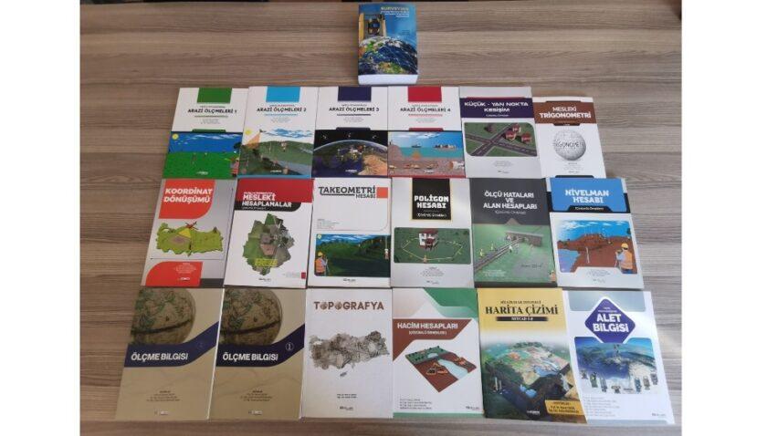 MEÜ Harita Mühendisliği Bölümünden kitap rekoru