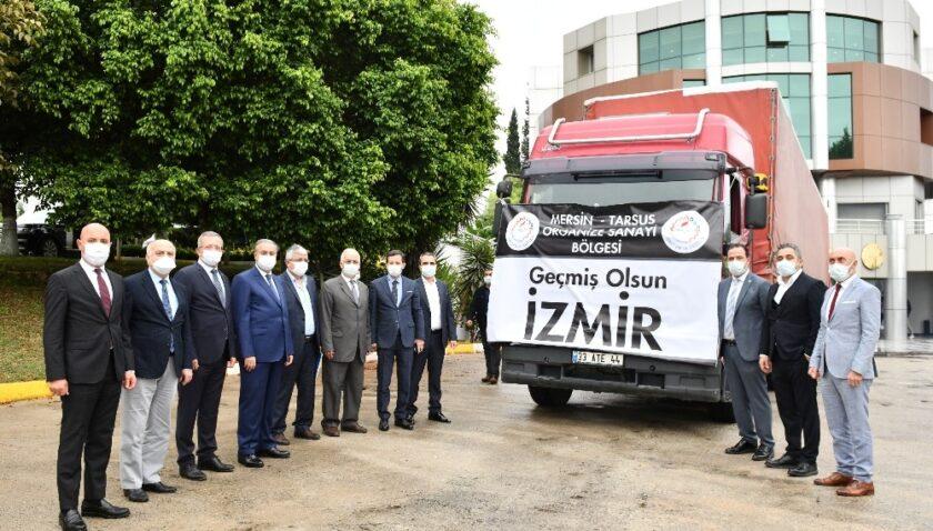 MTOSB'den İzmir'e yardım tırı