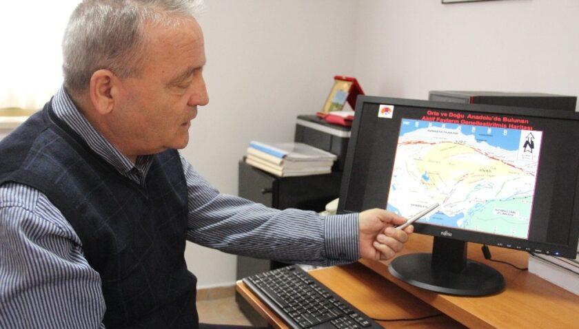 """Prof. İnan: """"Ülkemizde yılda 24 binden fazla deprem oluyor"""""""