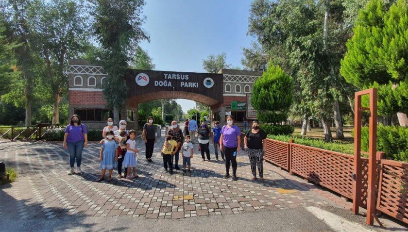 Tarsus Doğa Parkı'na Ekim ayında ziyaretçi akını