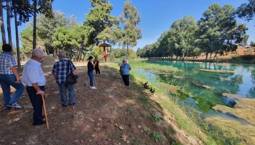 Yaşlılar Tarsus Gençlik Kampında ağırlandı
