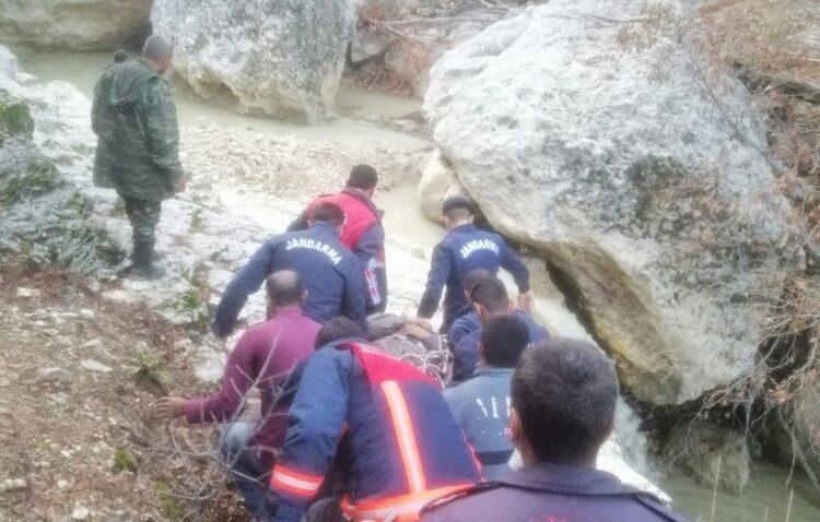 Mantar toplarken düşerek yaralanan şahıs ortak operasyonla kurtarıldı
