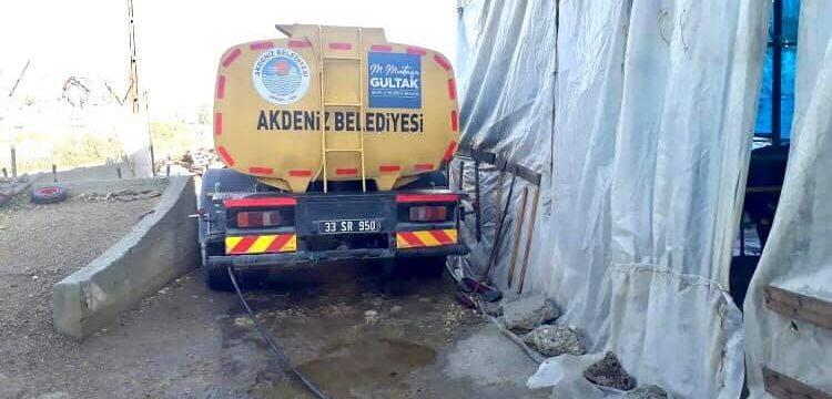 Besicinin yardım çağrısına Akdeniz Belediyesi yetişti