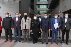 AK Parti İl Başkanı Ercik'ten Sağlar, Ataklı ve Başbuğ hakkında suç duyurusu