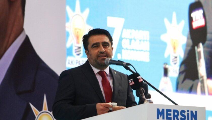 Ercik yeniden AK Parti Mersin İl Başkanlığına seçildi