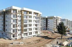 Hayalden gerçeğe dönüştü: 416 konutun kaba inşaatı 6 ayda tamamlandı