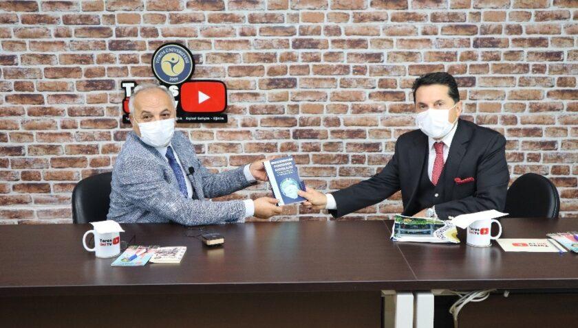 Mersin ESOB Başkanı Dinçer, esnafın sıkıntılarını Toros Üni TV'de anlattı