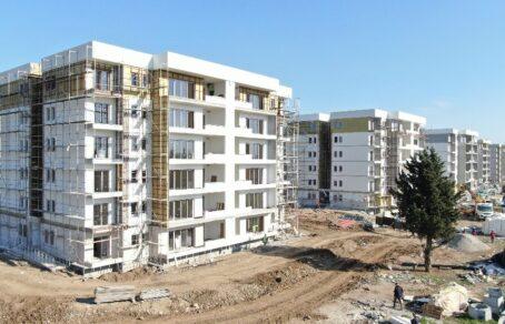 Mersin'de hayal gerçek oldu: 416 konutun kaba inşaatı 6 ayda tamamlandı
