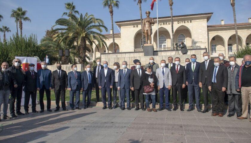 Mersinli gazeteciler Çalışan Gazeteciler Günü'nü kutladı