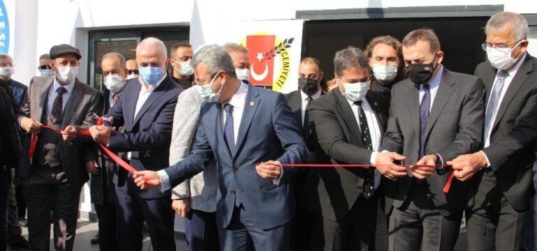 Mezitli Belediyesi Basın evi törenle açıldı