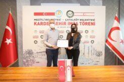 Mezitli'den Çatalköy'e kardeşlik bağı