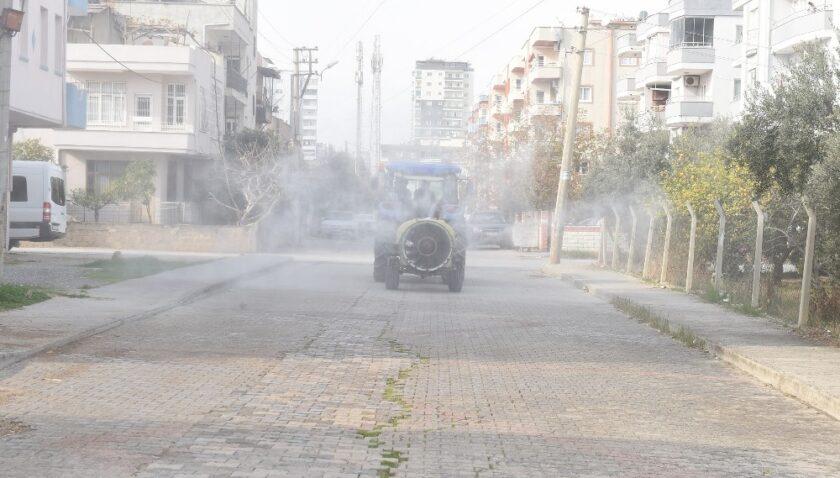 Tarsus Belediyesi, salgınla mücadelede ekip sayısını artırdı