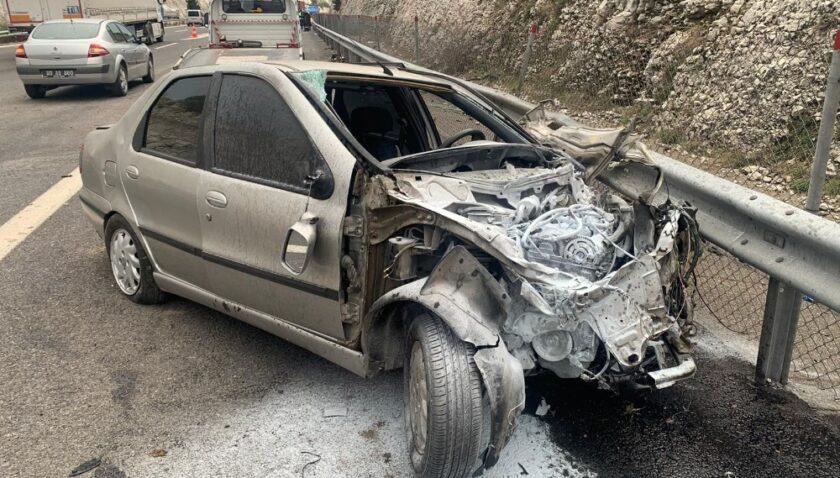 Tarsus'ta trafik kazası: 1 ölü, 7 yaralı
