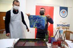 Akdeniz Belediyesi özel çocukları ağırladı