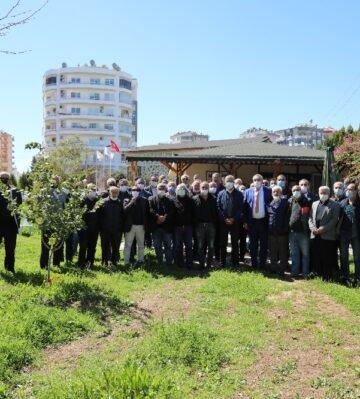 Başkan Tarhan, emeklilerle buluştu