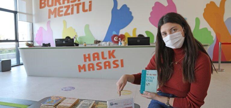 Mezitli'de ücretsiz kitap alışverişi