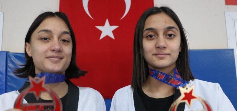 Şampiyon ikizlerin hedefi olimpiyatlar