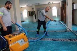 Akdeniz'de dezenfekte çalışmaları aralıksız sürüyor