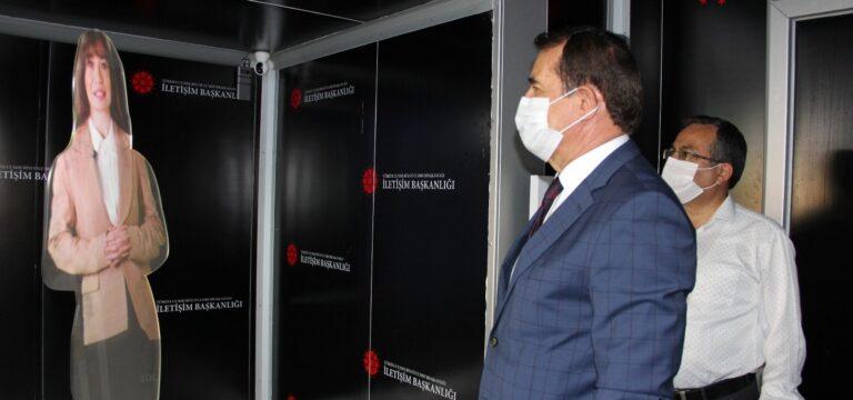Cumhurbaşkanlığı İletişim Başkanlığı 'Dijital Tır'ı Mersin'de