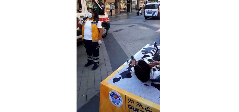 Etkinliği gerçek sanıp polis ve sağlık ekiplerini aradılar