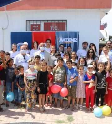 Mülteci ve Türk çocuklar, sosyal uyum projesinde buluştu