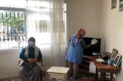 Akdeniz Belediyesi, yaşlı, engelli ve kimsesizlerin yanında olmaya devam ediyor