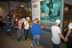 Özel gereksinimli öğrenciler Arkeoloji Müzesini gezdi
