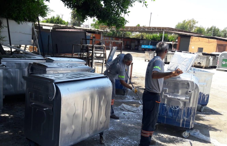 Akdeniz çöp konteynerlerini yeniliyor