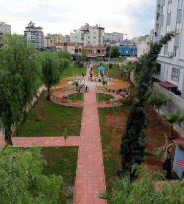 Akdeniz'de parklar yenileniyor